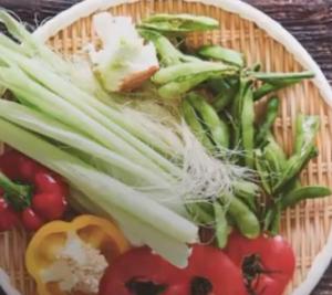 ベジブロスの野菜