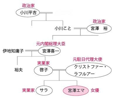 Daigo 家 系図